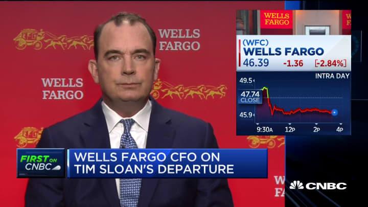 Wells Fargo CFO on earnings, Tim Sloan and consumer banking