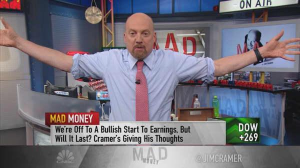 This market 'has no memory' this earnings season: Cramer