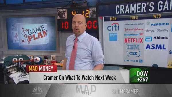 Cramer's Game Plan: Remember this market 'has no memory' this earnings season