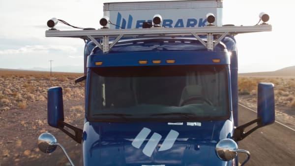 Embark self-driving truck