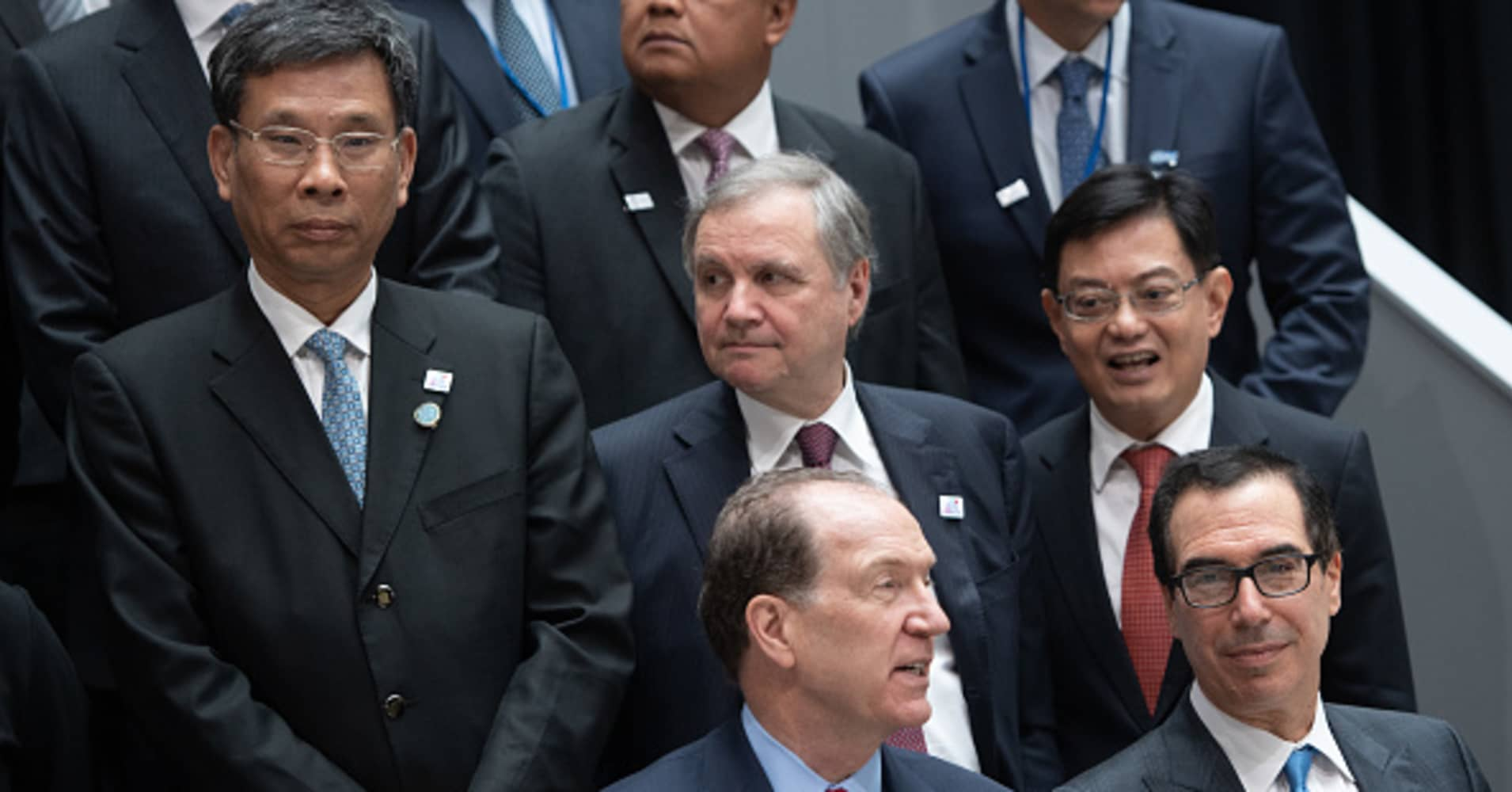 G-20 chiefs: World economic growth to revive later this year