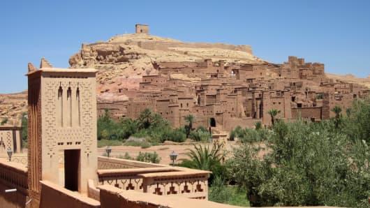 UNESCO World Heritage Site Aït-Benhaddou, Morocco