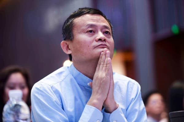 Alibaba Chairman Jack Ma attends the Jack Ma Rural Teacher Award Ceremony on January 13, 2019 in Sanya, Hainan Province of China.