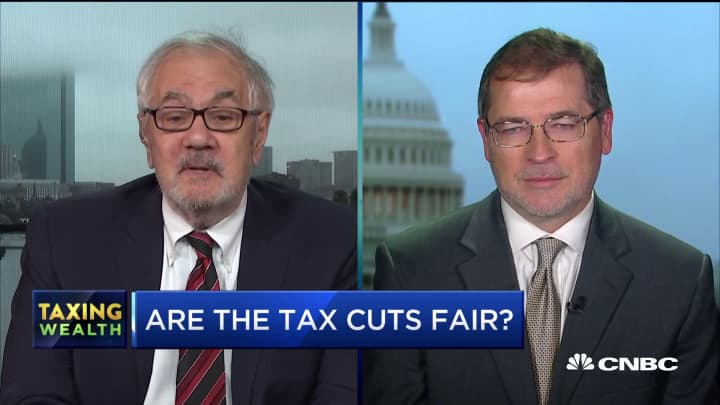Grover Norquist explains his issue with the IRS developing a free tax filing service