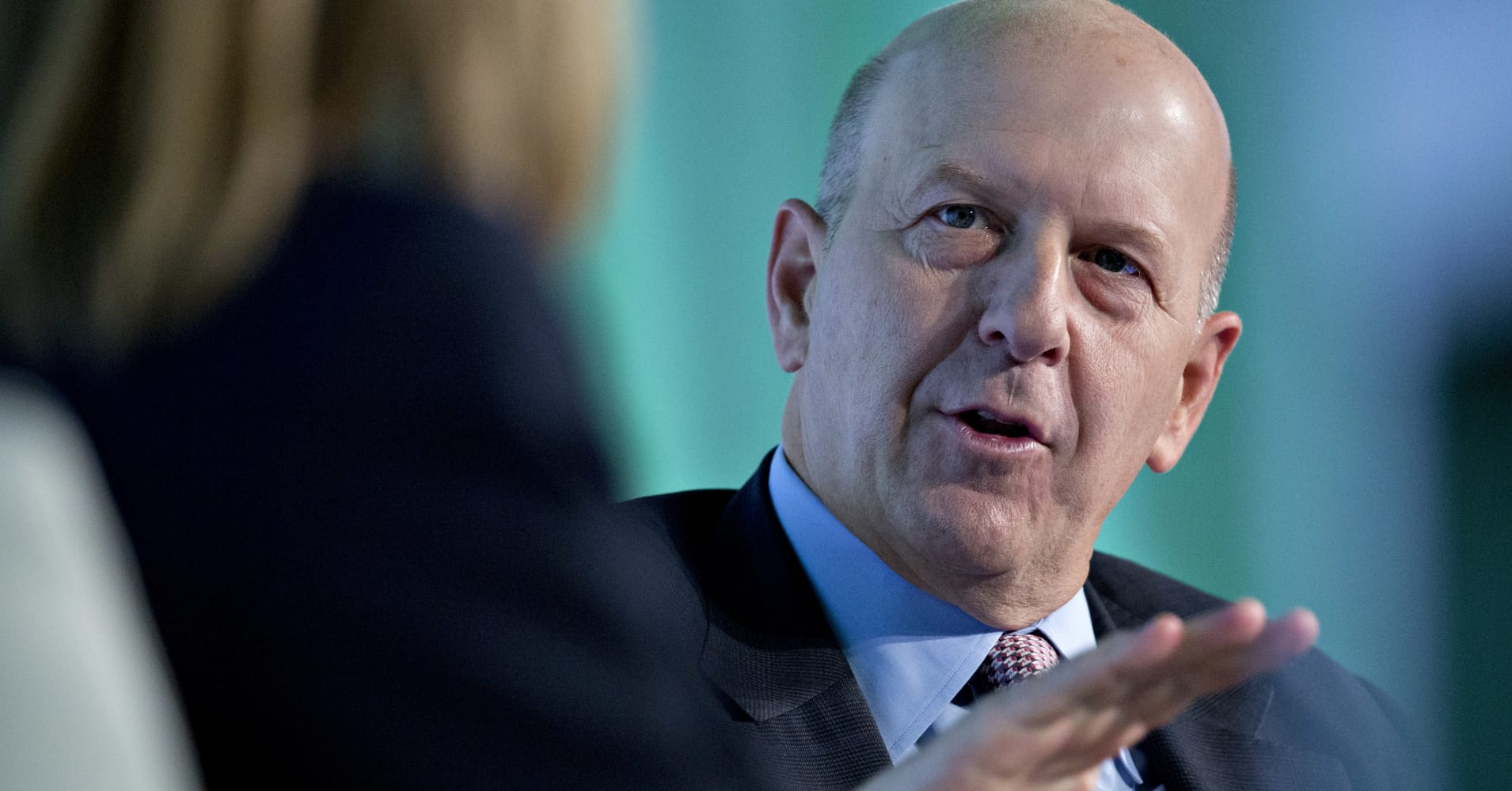 Goldman Sachs CEO David Solomon slashes pay for his employees as revenue drops
