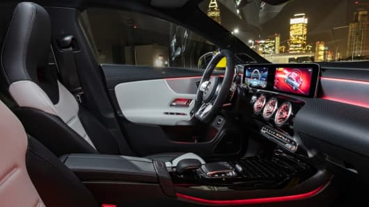 The Mercedes-AMG CLA 35 4MATIC, Kraftstoffverbrauch