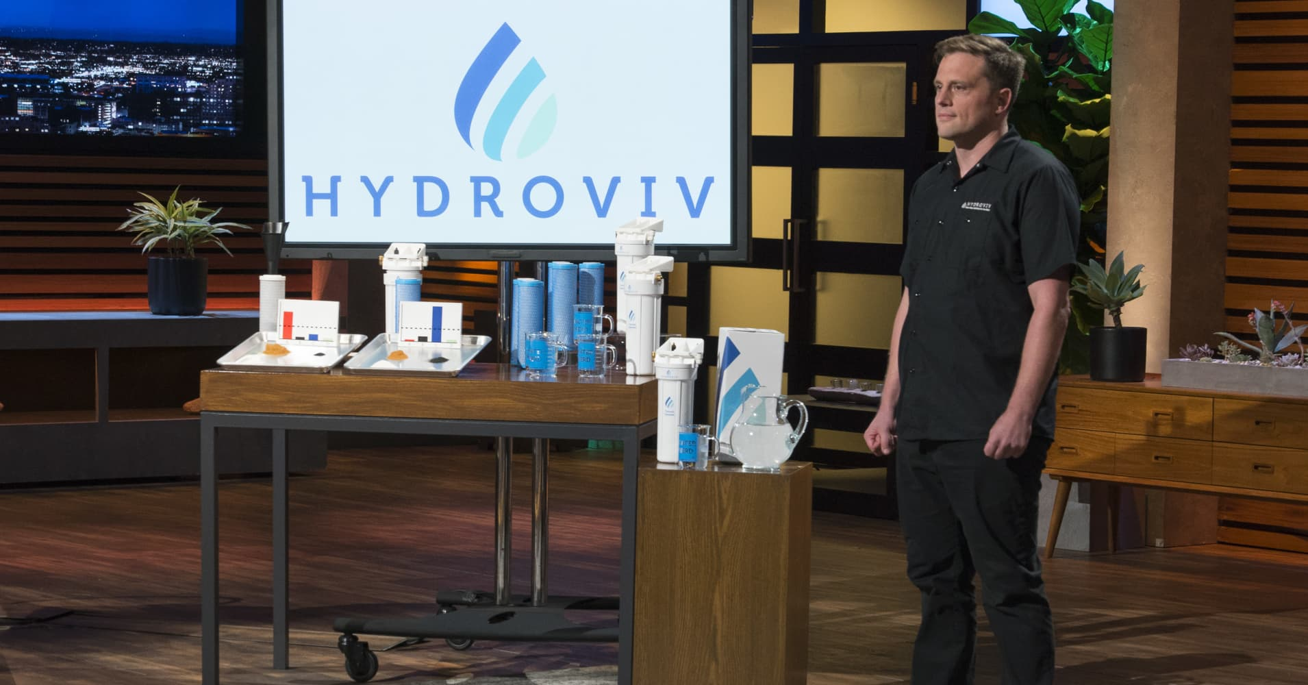 'Shark Tank': Chemist's water filter invention was inspired by Flint crisis—why Mark Cuban invested $400,000