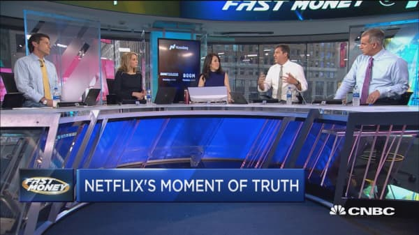 It's a impulse of law for Netflix as a final countdown to gain is on