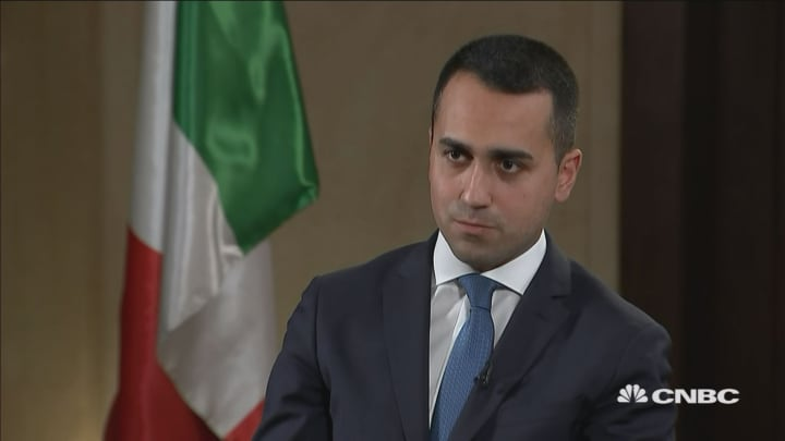 Italy is on the 'right track,' says deputy prime minister