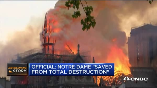 Louis Vuitton and Gucci owners pledge more than $300 million to rebuild Notre Dame after fire