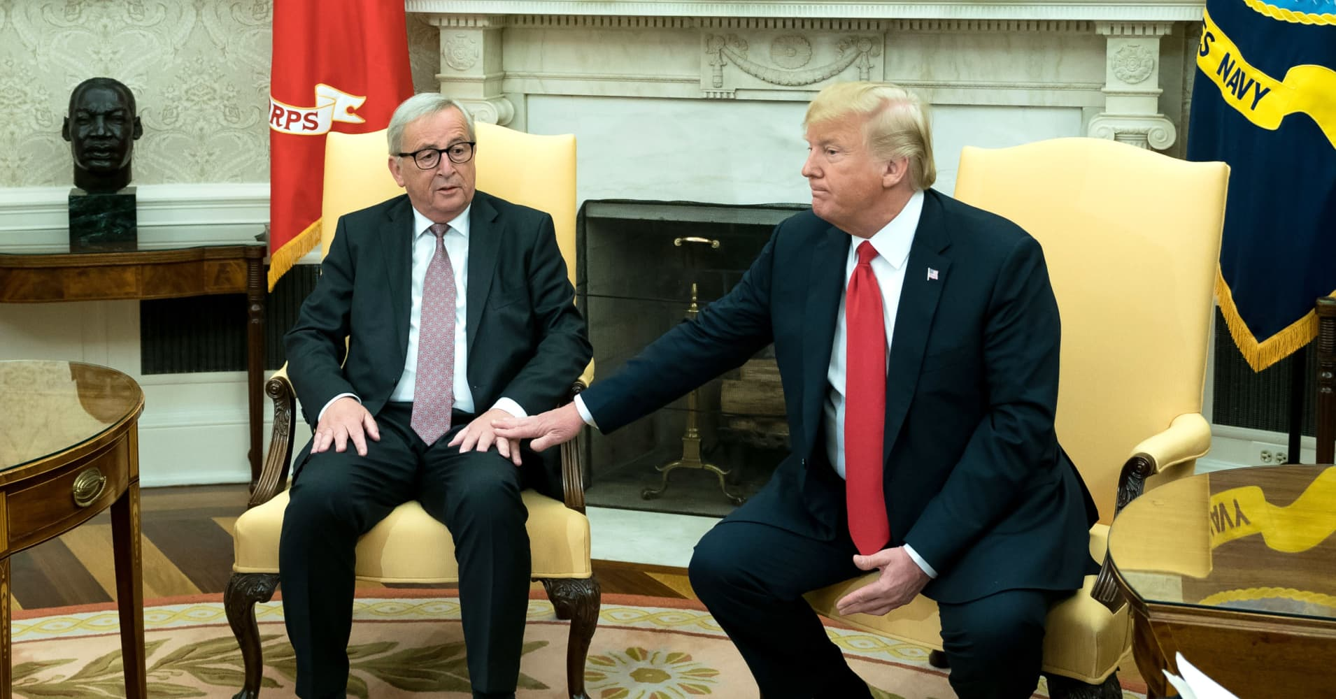 A trade war between the US and Europe is unlikely to happen. Here's why