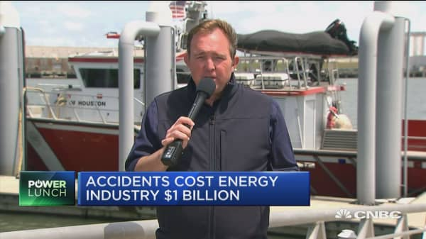Accidents cost energy industry $1 billion