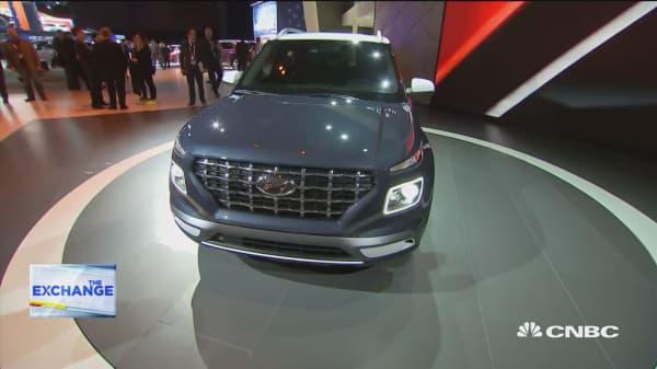 Hyundai introduces sub-$20K 'Venue' SUV at New York Auto Show