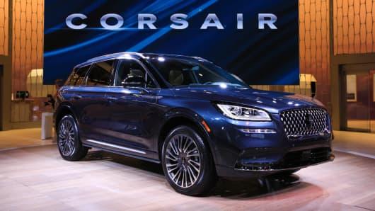 The 2020 Lincoln Corsair.