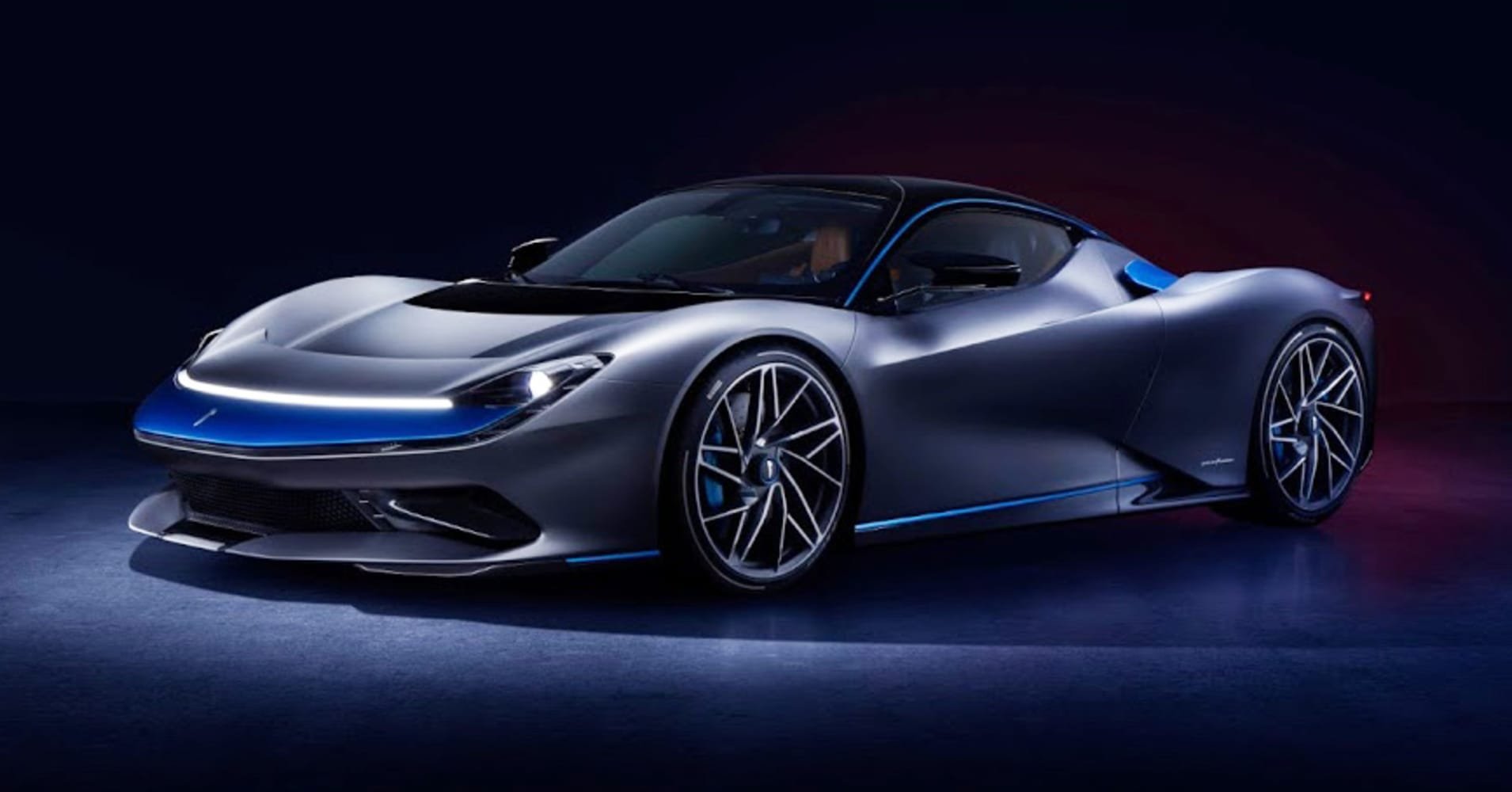 The $2.5 million Pininfarina Battista electric hypercar debuts in US