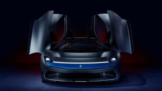 The 2 5 Million Pininfarina Battista Electric Hypercar