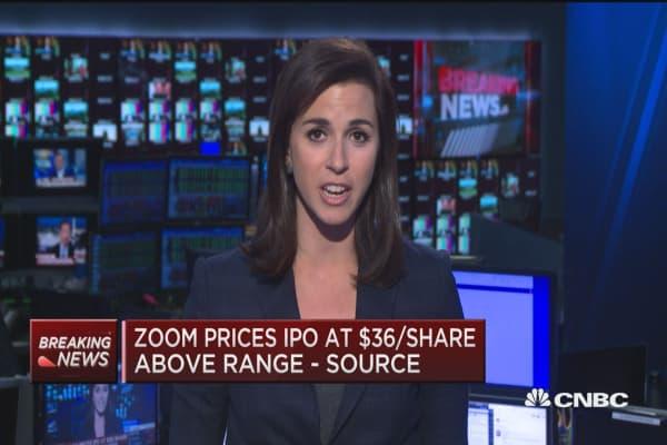 Ipo price zoom video
