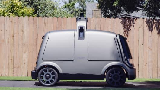 Grocery firm Kroger launches autonomous deliveries in Houston