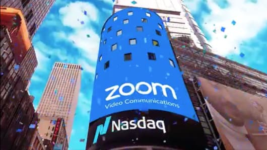 Zoom video communications stock ipo