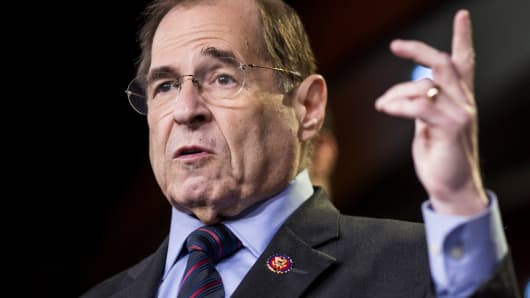 House Judiciary Chair Jerrold Nadler calls special counsel Robert Mueller to testify by May 23 after Attorney General William Barr's news conference
