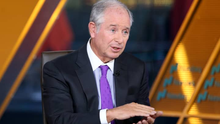 Blackstone's Schwarzman: China's economic 'miracle' came at the expense of the US and the West