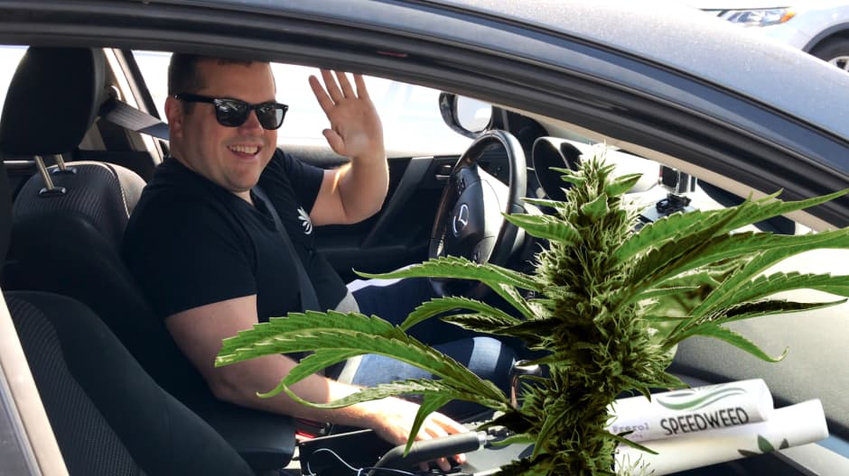 I spent a day delivering weed in Los Angeles—here's what it was like and how much money you can make
