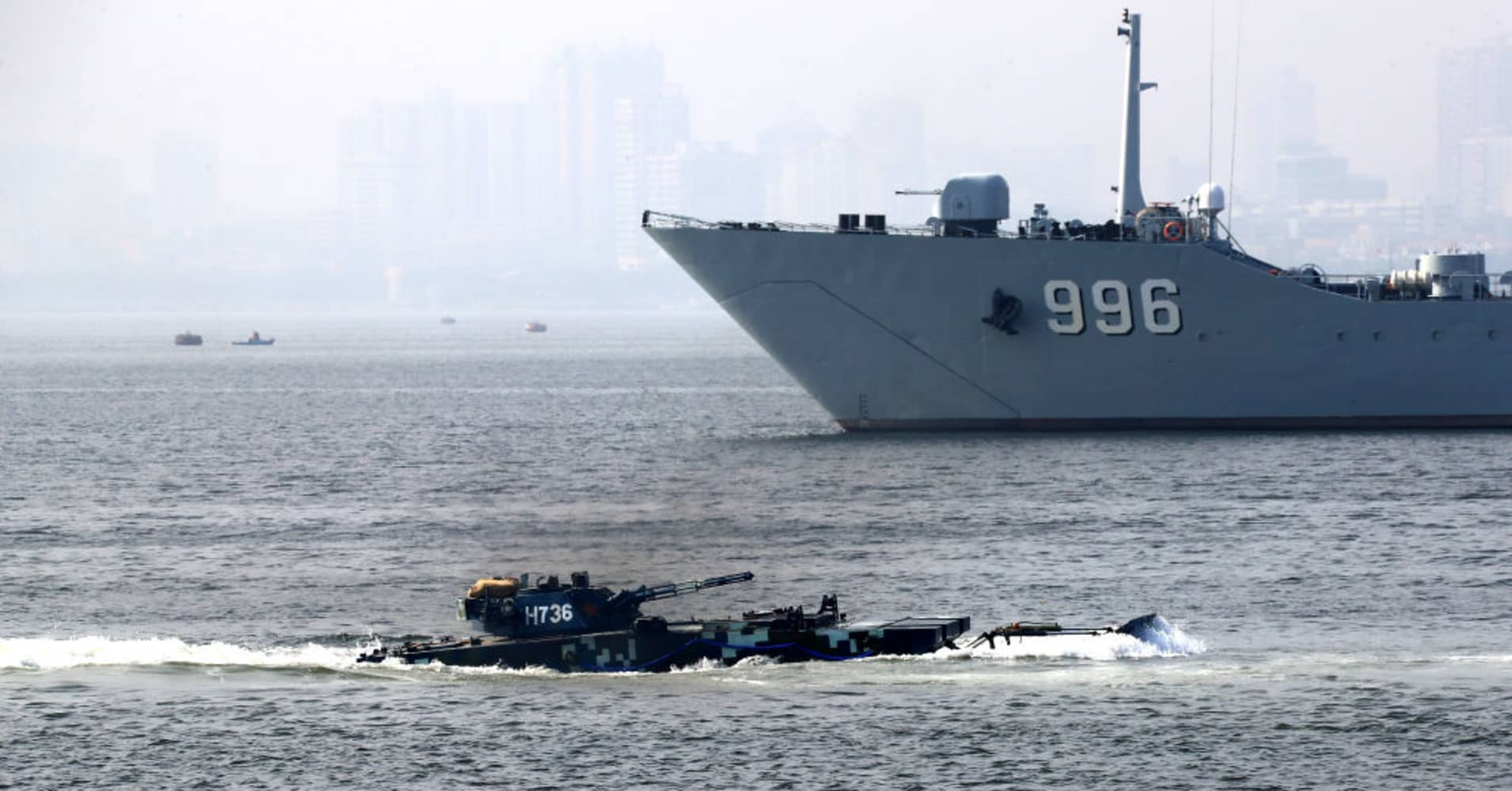China to show new warships as Beijing flexes military muscle on navy anniversary thumbnail