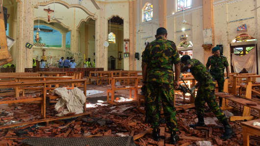 Facebook and other social media sites are shut down after the bombings in Sri Lanka, but some warn that could make problems worse