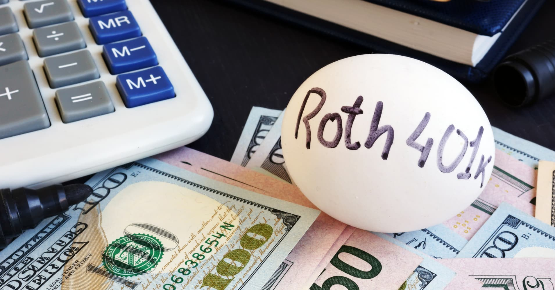A Roth 401(k) offers tax advantages. Here's how it works