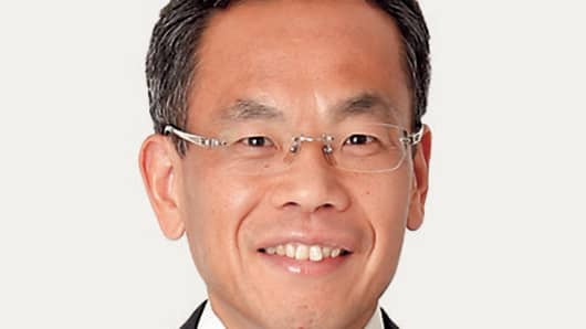 Satoshi Nakaniwa, executive managing officer and chief financial officer Lawson.