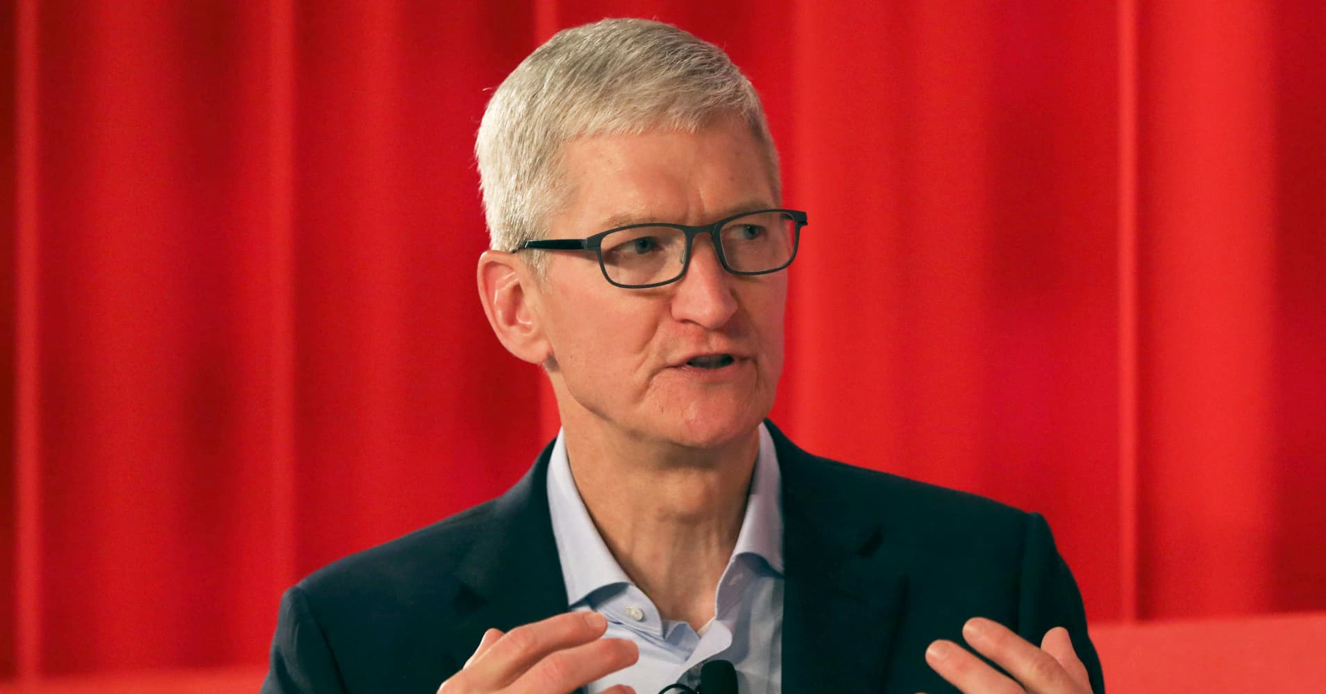 Apple CEO Tim Cook: Europe is leading the U.S. when it comes to tech regulation