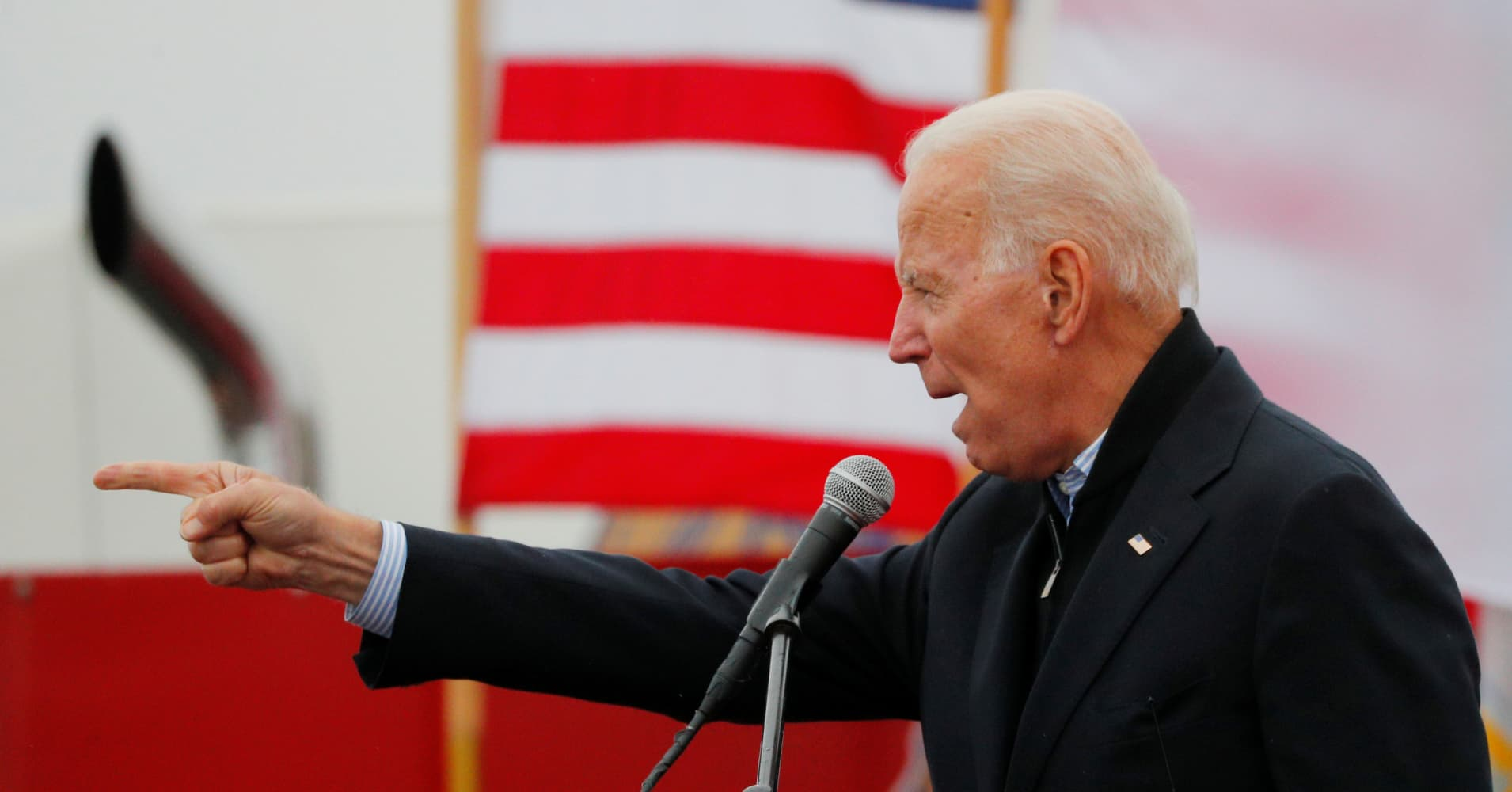 Joe Biden tells key supporters he is running for president as he lines up fundraising help