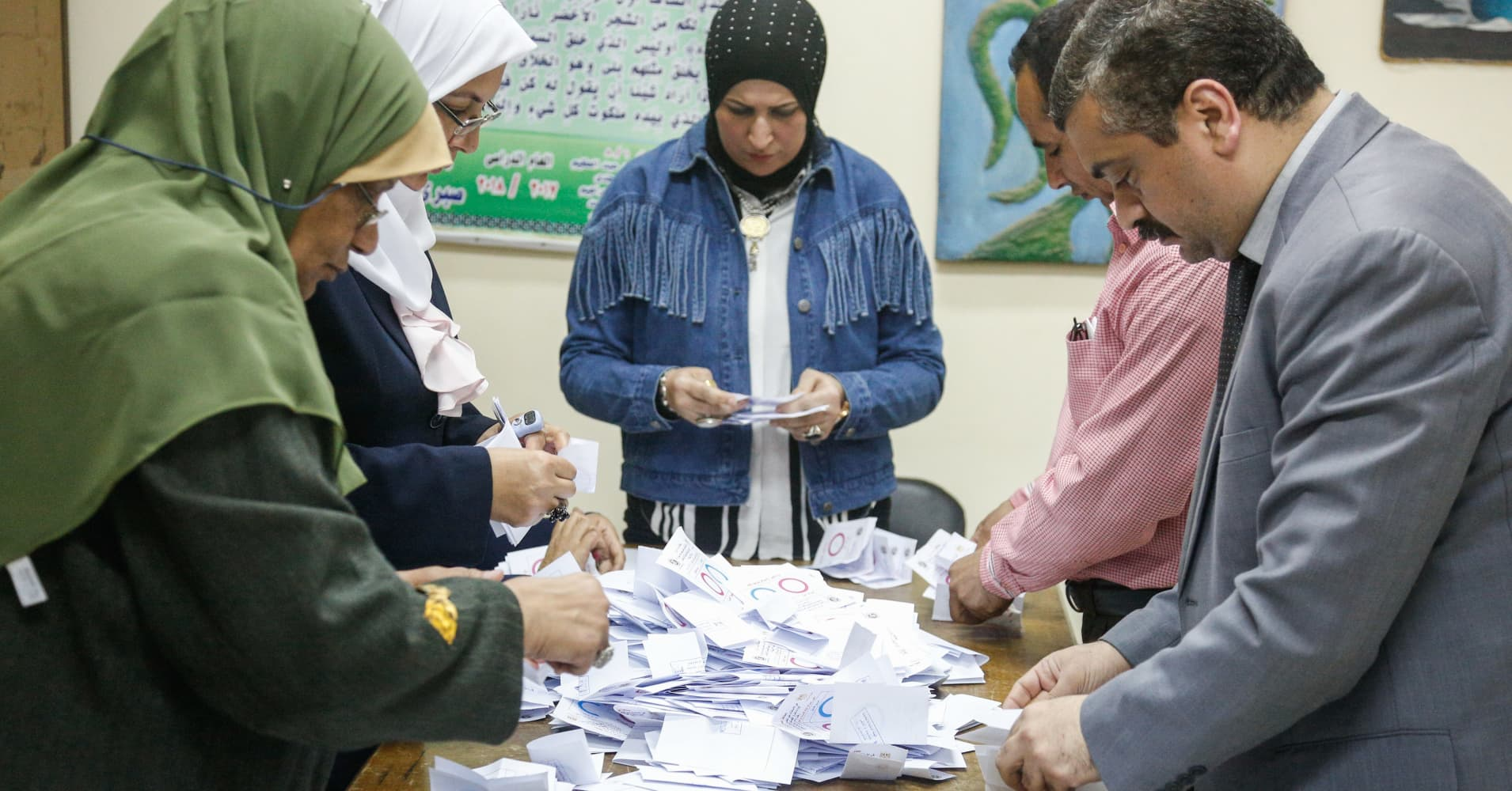 Egypt voters allow El-Sissi to remain president until 2030