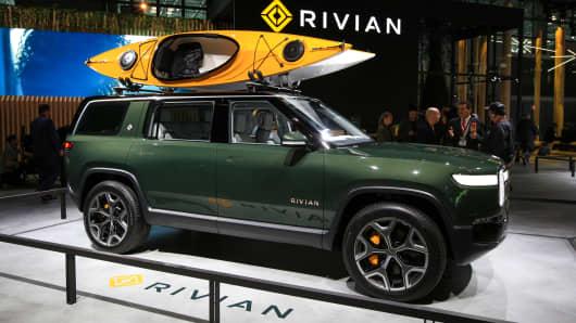 Rivian EV SUV.