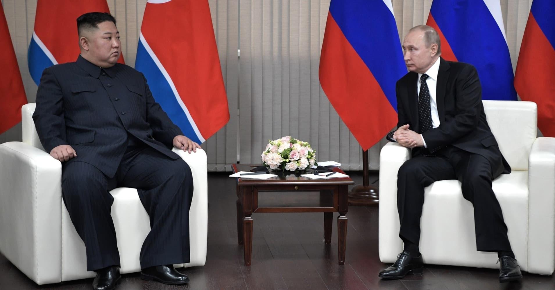 Putin has 'substantial' talks with Kim at summit