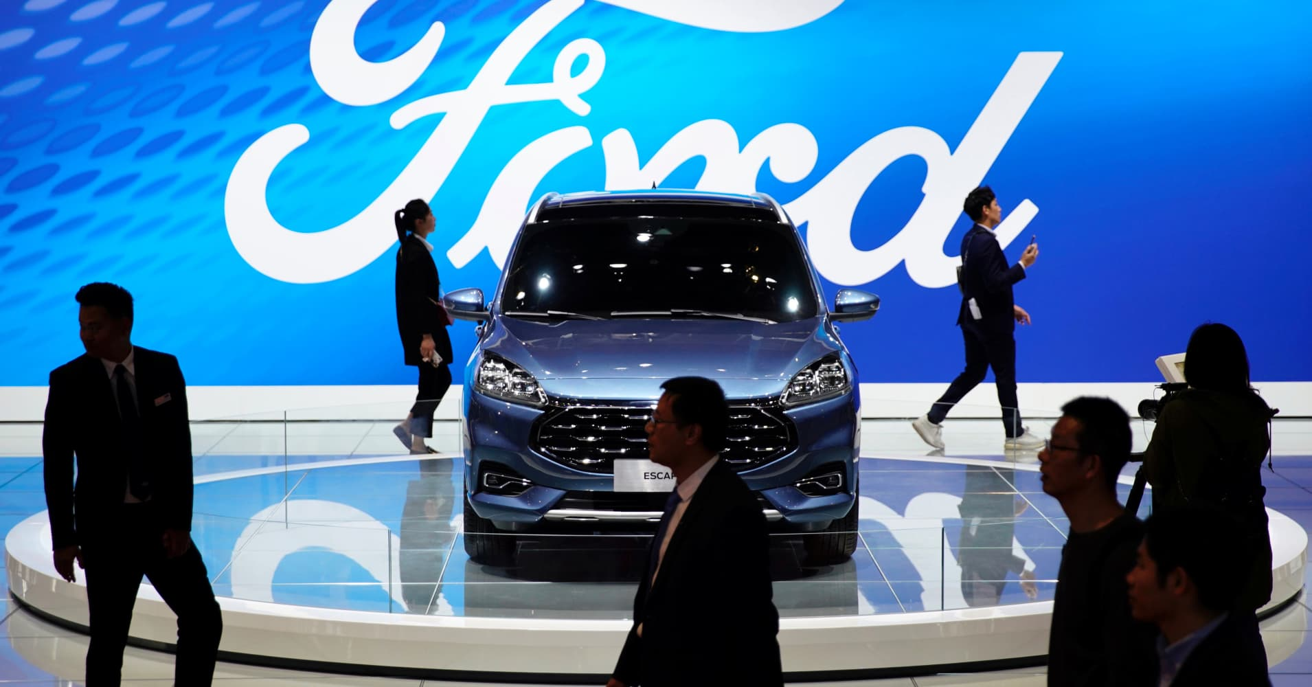 Ford shares jump after Bank of America upgrades the stock to buy thumbnail