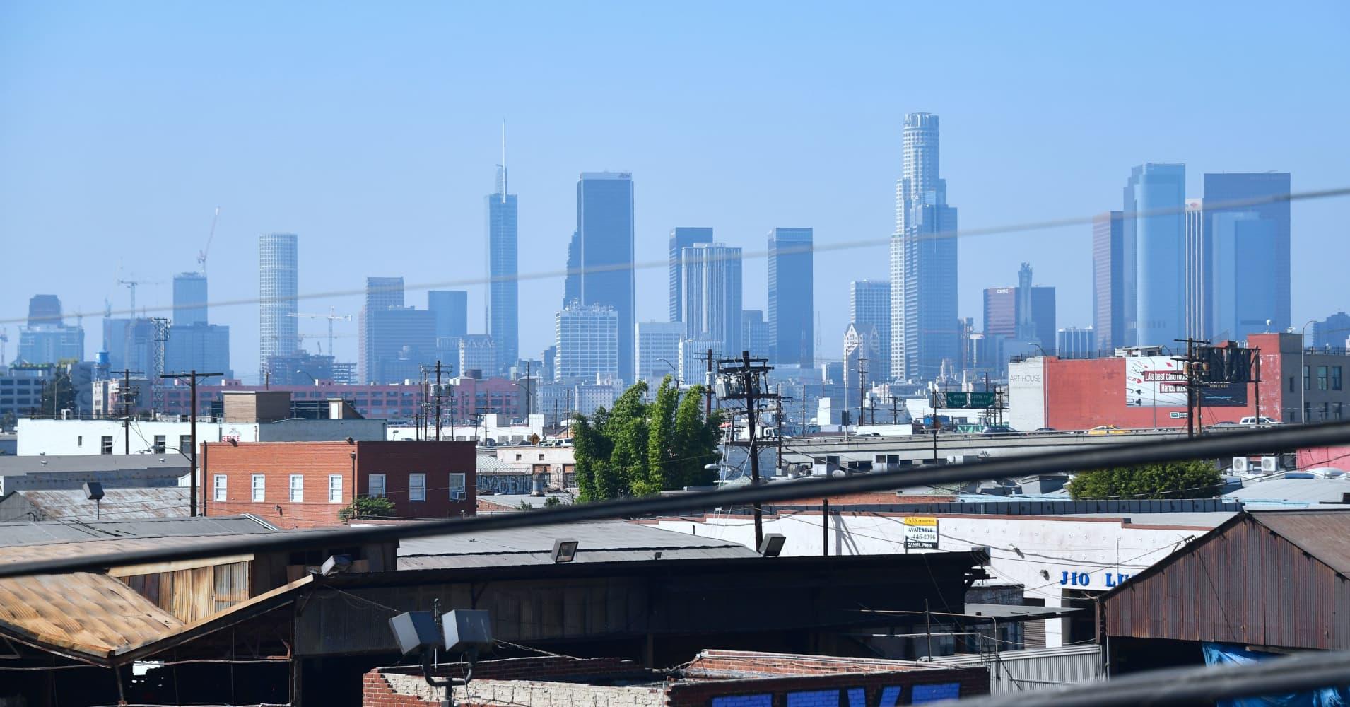 Los Angeles population shrinking, even as larger region still grows
