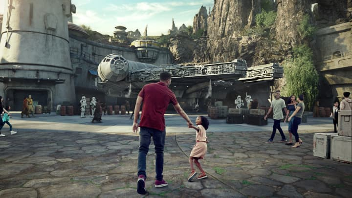 Pictures: Inside Disney Parks' billion-dollar Star Wars