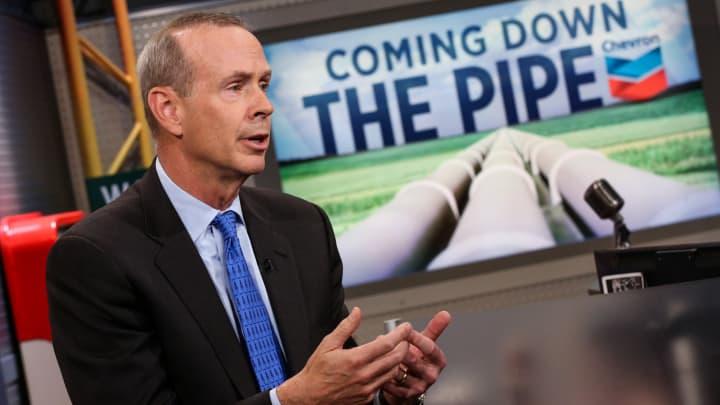 Michael Wirth, CEO of Chevron.