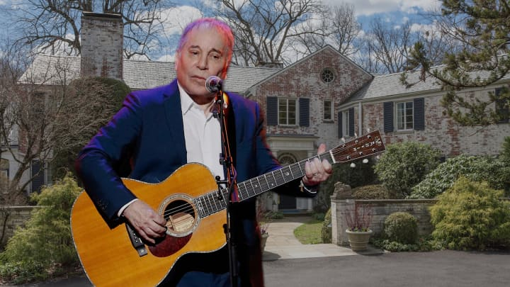 Paul Simon is selling his Connecticut home for $13.9 million — take a look inside
