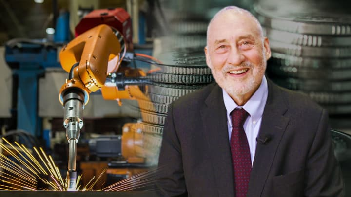 Joseph Stiglitz on income inequality, automation and UBI