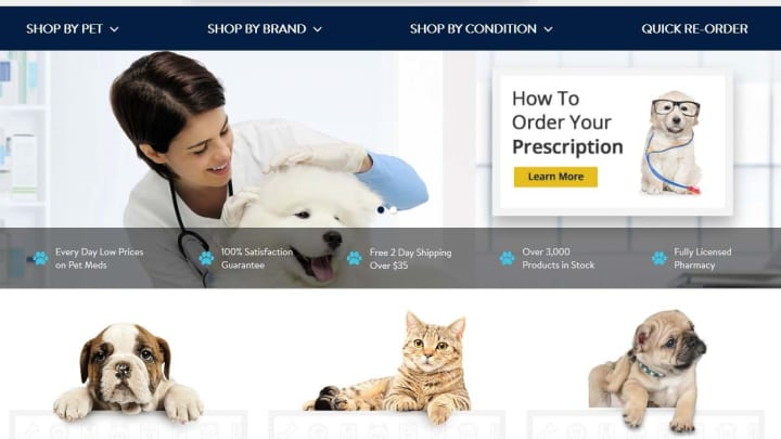Walmart to open dozens of vet clinics, launch online pet pharmacy