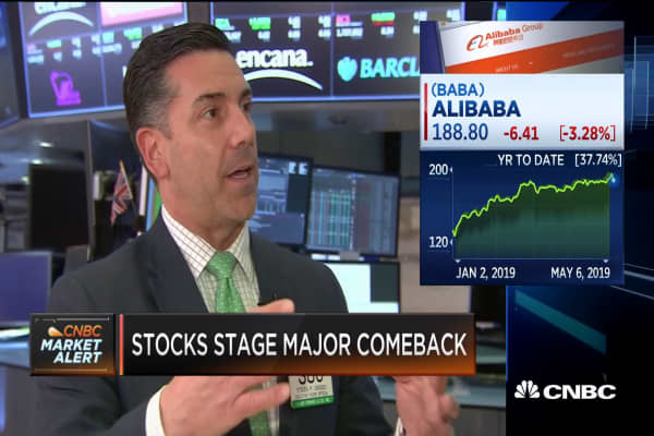 China Tech Names Helped Turn Markets Around Says Stuart