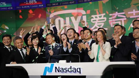Nasdaq: Chinese companies listing in US pipeline stronger