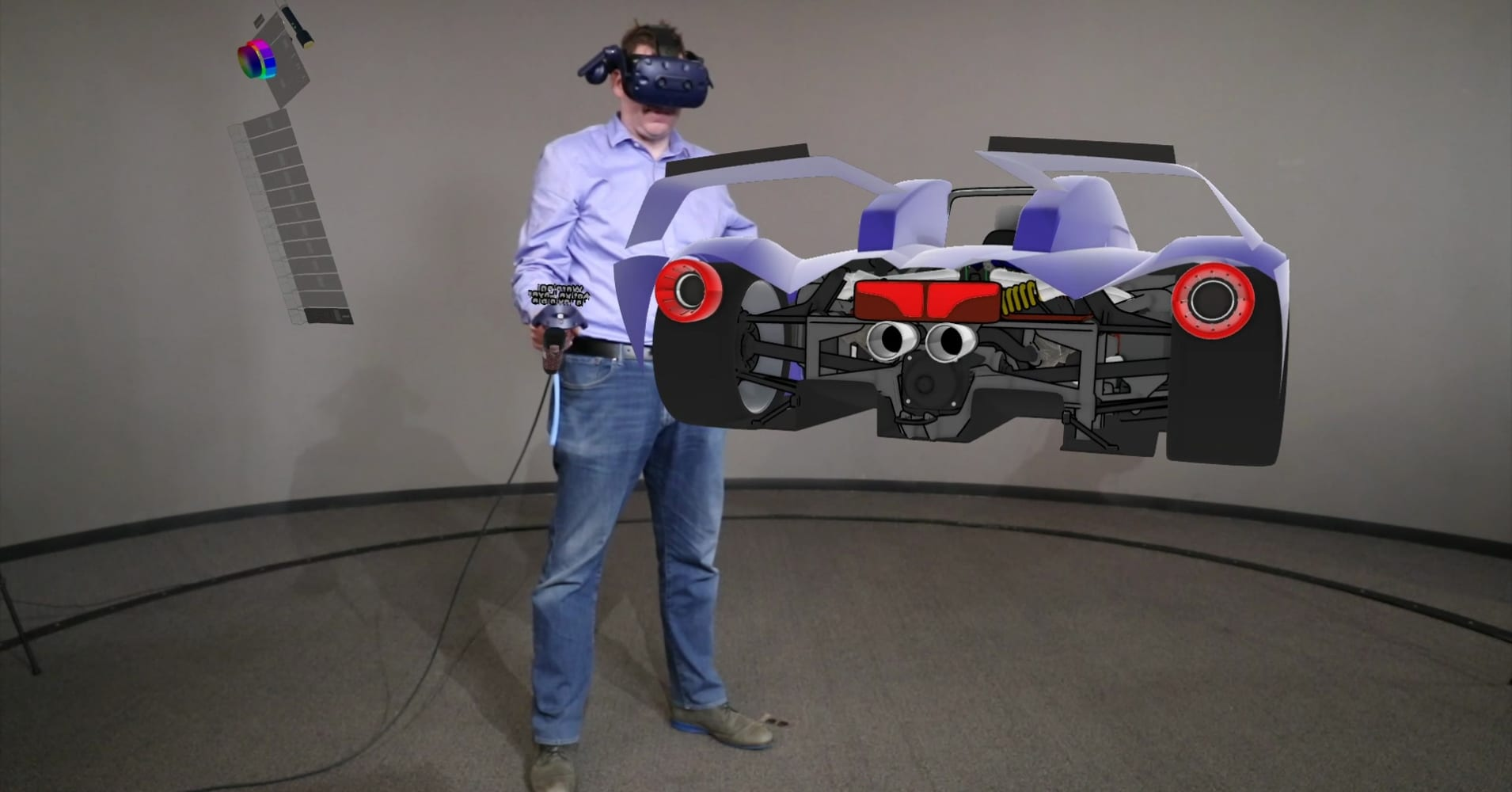 Designers at Ford are using virtual reality tools to work with colleagues remotely