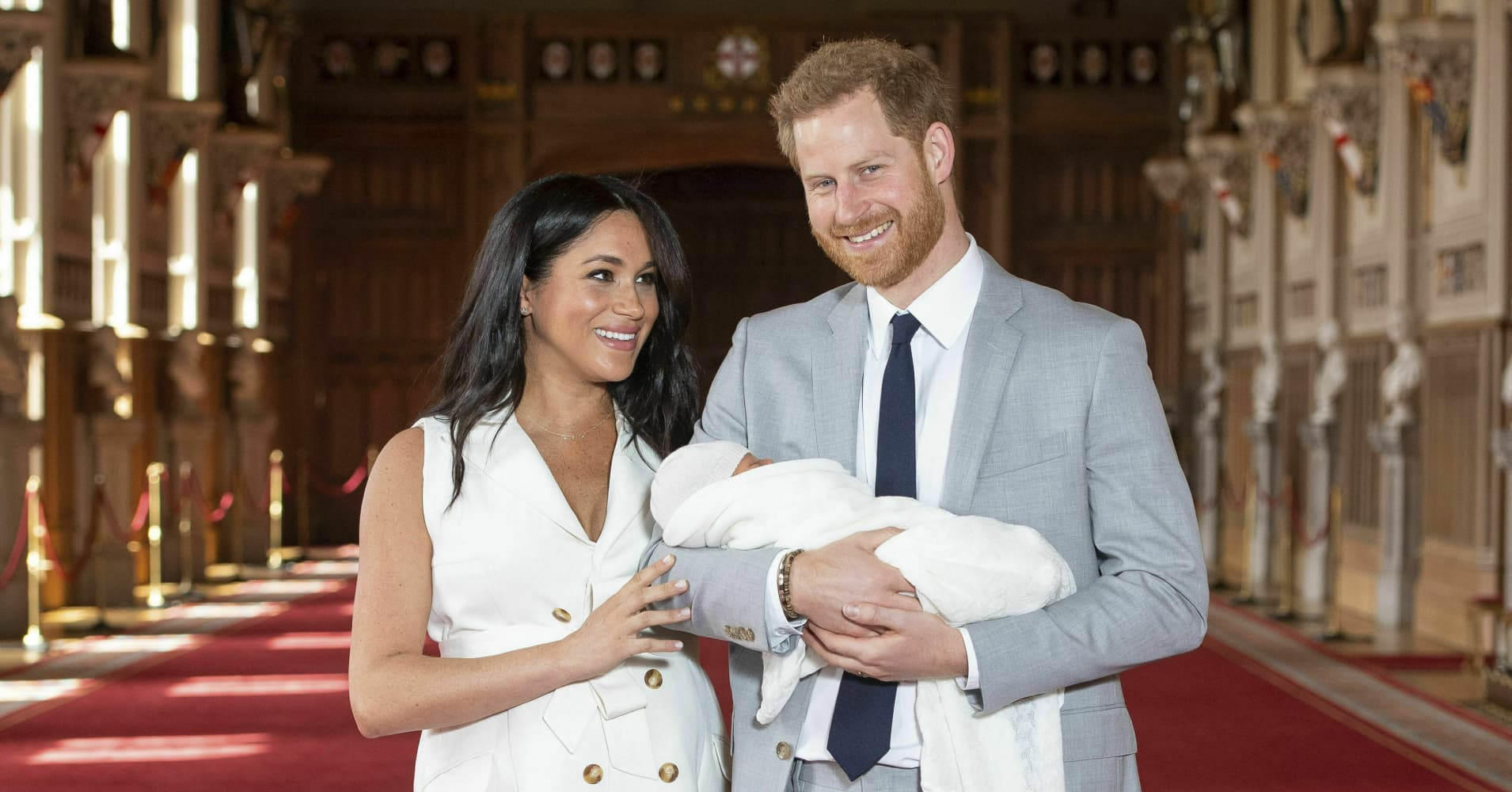 Royal baby Archie faces a complicated tax situation