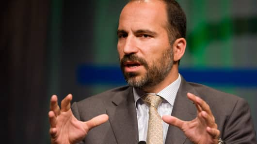 Dara Khosrowshahi, CEO of Uber.