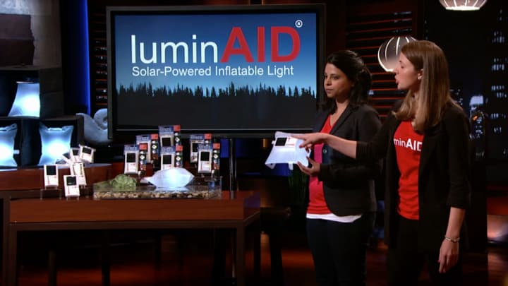 Mark Cuban-backed start-up LuminAID helps first responders in an innovative way