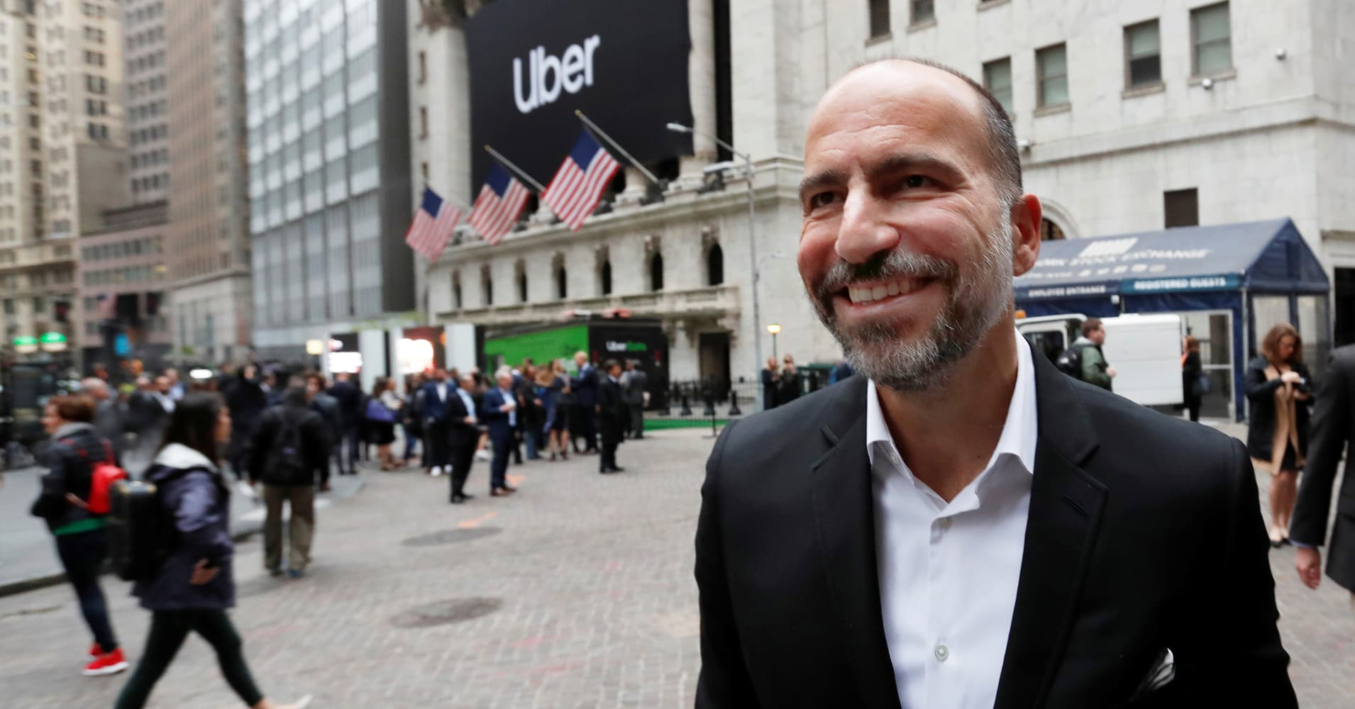Uber CEO Says He's Building the Next Amazon, even though Growth is Slowing