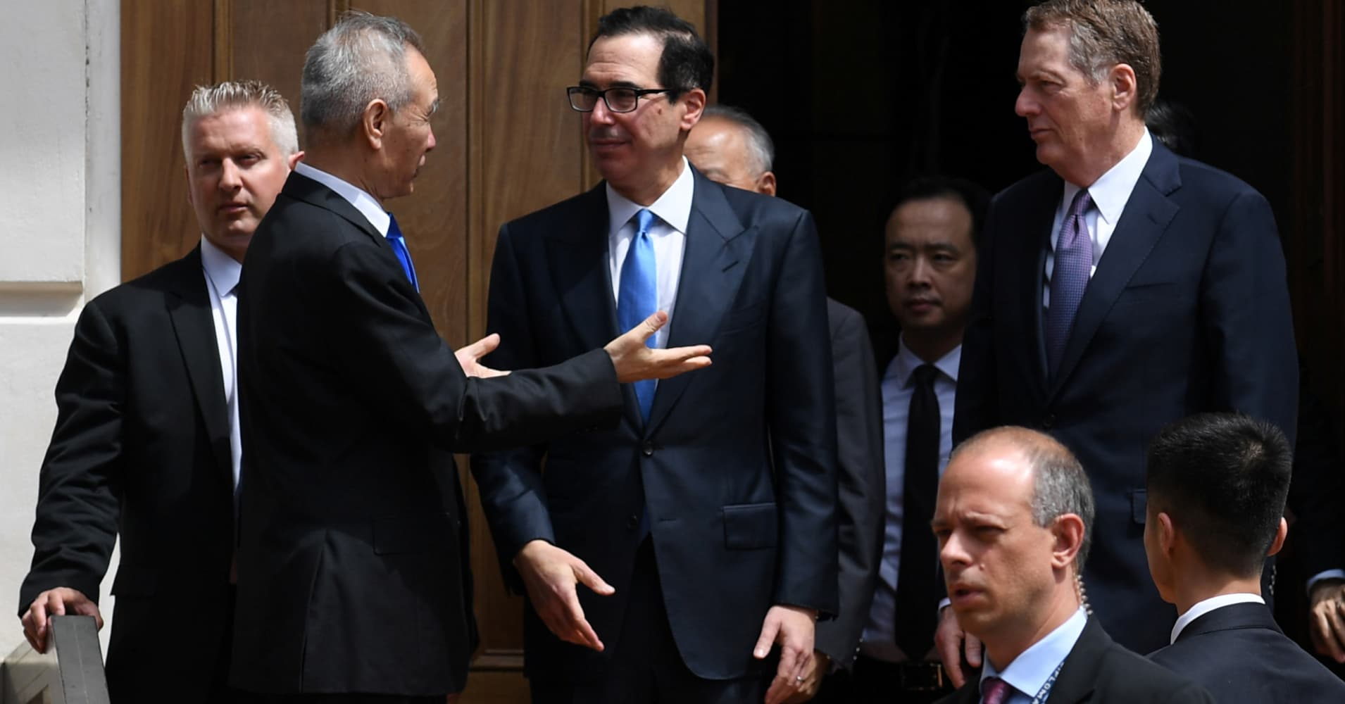 Treasury Secretary Mnuchin says China trade talks are done for the day